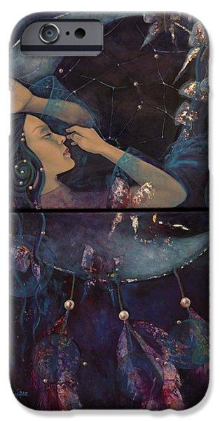 Dream Catcher iPhone Case by Dorina  Costras