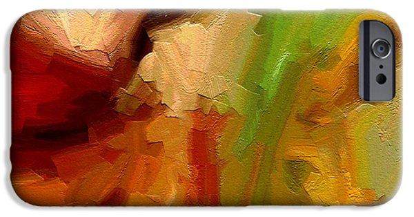 Geometrical Art iPhone Cases - Dream weaver iPhone Case by Ely Arsha