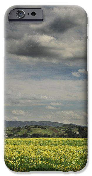 Field. Cloud iPhone Cases - Dreams are Hard to Follow iPhone Case by Laurie Search