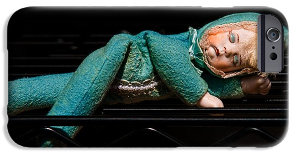 Porcelain Doll iPhone Cases - Dreams Of A New Home iPhone Case by Christopher Holmes