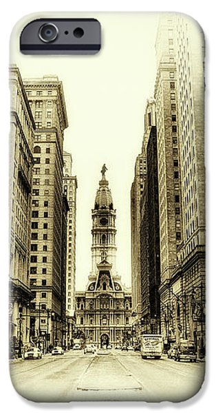 Dreamy Philadelphia iPhone Case by Bill Cannon