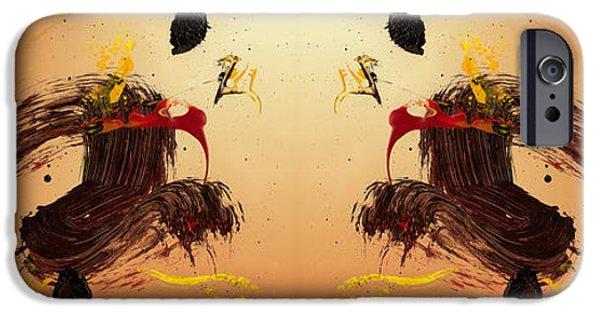 Swiss Mixed Media iPhone Cases - Drift Apart   iPhone Case by Manuel Sueess