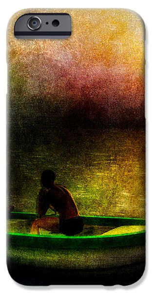 Drifting Into The Light iPhone Case by Bob Orsillo