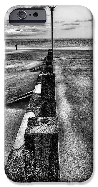 Drifting sands iPhone Case by John Farnan