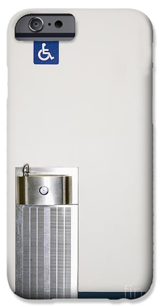 Stainless Steel iPhone Cases - Drinking Fountain iPhone Case by Andersen Ross