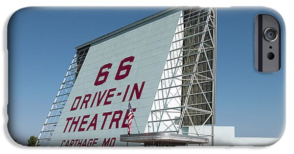 2009 iPhone Cases - Drive-in Theater, 2009 iPhone Case by Granger