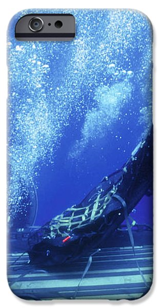 Dry Deck Shelter Rewmen Release iPhone Case by Michael Wood