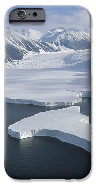 Dugdale and Murray Glaciers Antarctica iPhone Case by Tui DeRoy