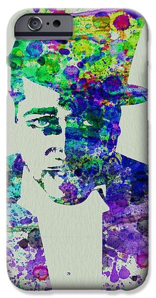 New York City Paintings iPhone Cases - Duke Ellington iPhone Case by Naxart Studio