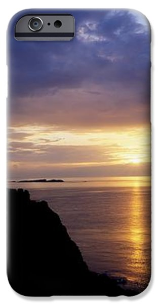 Dunluce Castle At Sunset, Co Antrim iPhone Case by The Irish Image Collection
