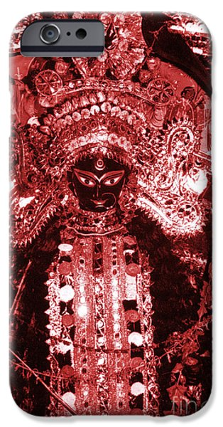 Goddess Durga iPhone Cases - Durga iPhone Case by Photo Researchers