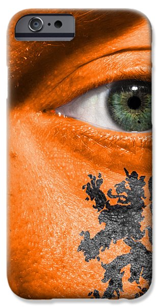Dutch Lion - Coat of Arms iPhone Case by Semmick Photo