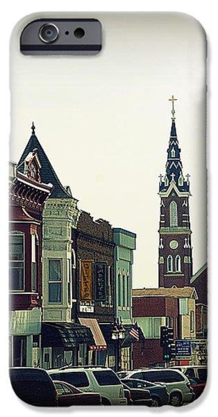 Dyersville in Iowa iPhone Case by Susanne Van Hulst