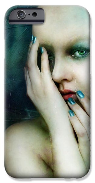 Dysthymia iPhone Case by Karen H