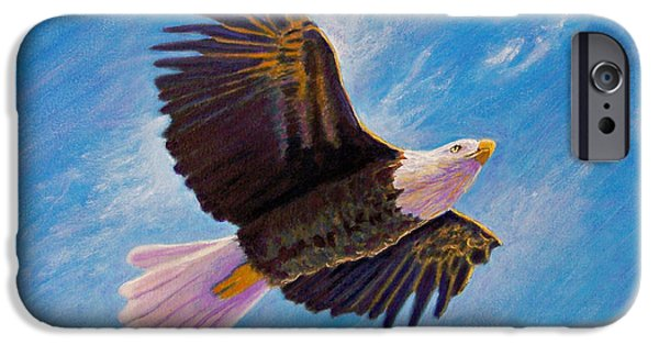 Eagle iPhone Cases - Eagle Heart iPhone Case by Brian  Commerford