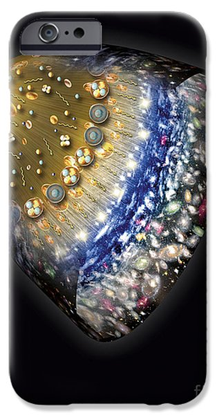 Early History of the Universe iPhone Case by Henning Dalhoff and SPL and Photo Researchers