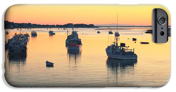 Chatham iPhone Cases - Early Morning in Chatham Harbor iPhone Case by Roupen  Baker