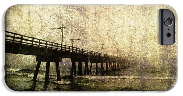 Panama City Beach Photographs iPhone Cases - Early Morning Pier iPhone Case by Skip Nall