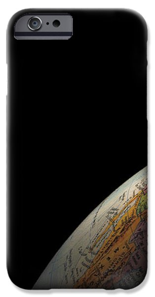 Earth and Moon iPhone Case by Rob Byron