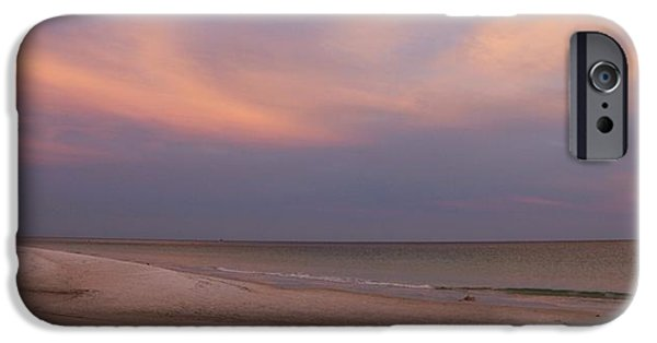 Panama City Beach Photographs iPhone Cases - East - After the Sunset iPhone Case by Sandy Keeton