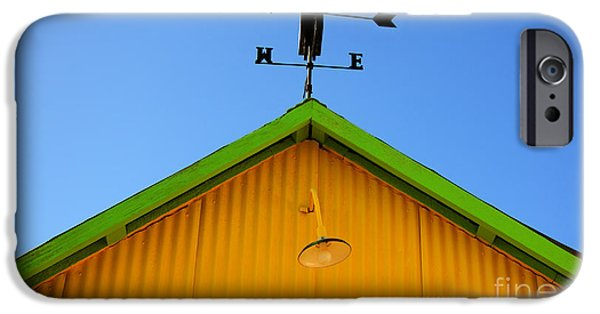 Weathervane Photographs iPhone Cases - East Of The Sun West Of The Moon iPhone Case by Bob Christopher