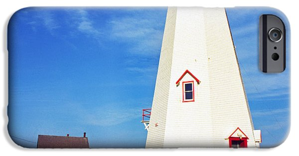 Lightstations iPhone Cases - East Point Lightstation iPhone Case by Thomas R Fletcher