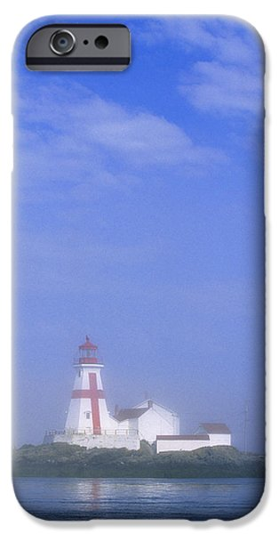 East Quoddy Lighthouse, Campobello iPhone Case by John Sylvester