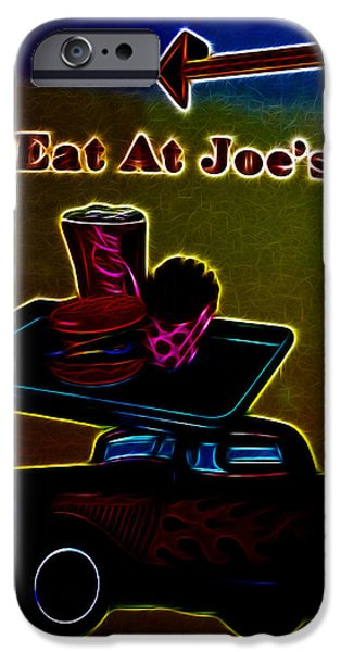 Eat at Joes iPhone Case by Cheryl Young