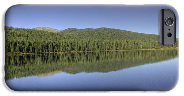 Arapaho iPhone Cases - Echo Lake iPhone Case by David Bearden