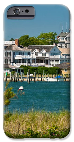 Edgartown Harbor Marthas Vineyard Massachusetts iPhone Case by Michelle Wiarda