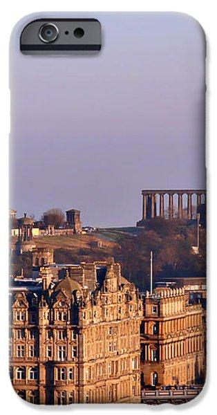 Edinburgh Scotland - A Top-Class European City iPhone Case by Christine Till