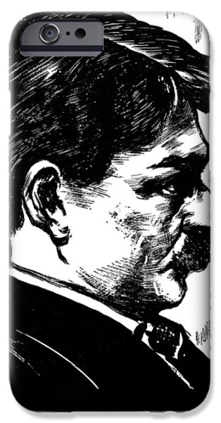 Autographed iPhone Cases - EDWARD ALEXANDER MacDOWELL iPhone Case by Granger