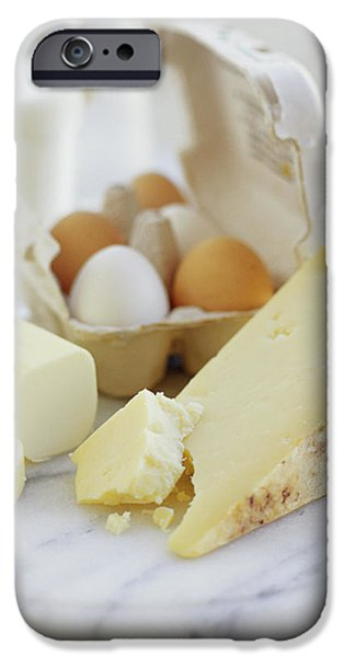 Eggs And Cheese iPhone Case by David Munns