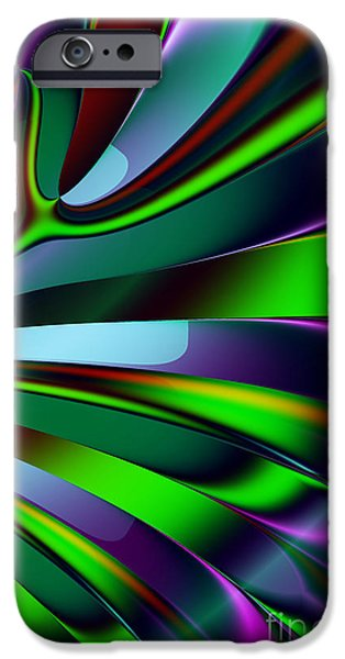 Algorithmic Digital Art iPhone Cases - Eichler Is Lost . S9 iPhone Case by Wingsdomain Art and Photography