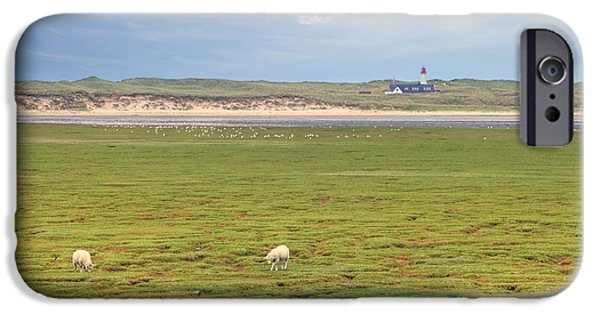 Wadden Sea iPhone Cases - elbow - Sylt iPhone Case by Joana Kruse