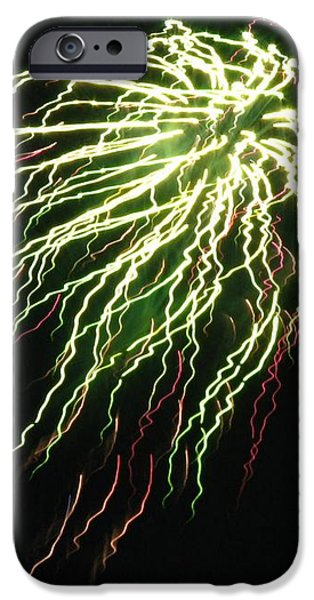 Electric Jellyfish iPhone Case by Rhonda Barrett