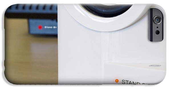 Electrical Equipment iPhone Cases - Electrical Equipment On Standby iPhone Case by Paul Rapson