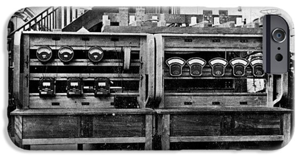 Electrical Equipment iPhone Cases - Electrical Testing Station, 1906 iPhone Case by National Physical Laboratory (c) Crown Copyright