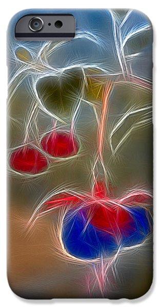 Electrifying Fuchsia iPhone Case by Susan Candelario