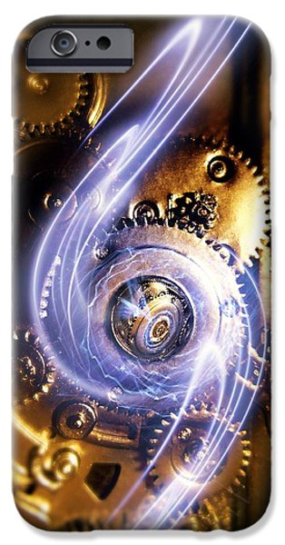Electromechanics, Conceptual Image iPhone Case by Richard Kail