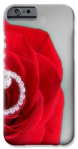 Elegance in Selective Color iPhone Case by Mark J Seefeldt