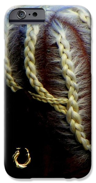 Elegance of Age iPhone Case by KAREN WILES