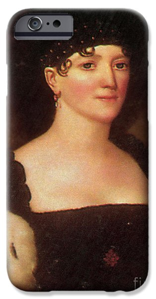 First Lady iPhone Cases - Elizabeth Monroe iPhone Case by Photo Researchers
