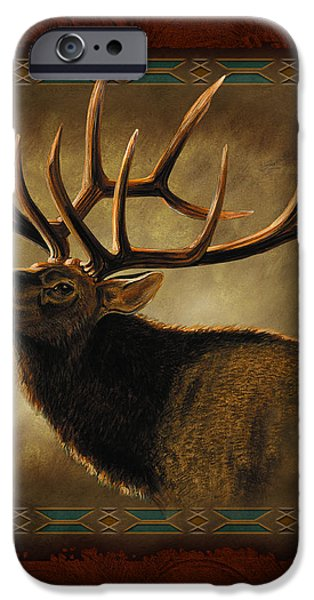 Elk Lodge iPhone Case by JQ Licensing
