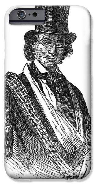 ELLEN CRAFT (b.1826) iPhone Case by Granger