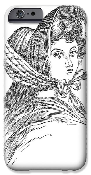 EMILY BRONT� (1818-1848) iPhone Case by Granger