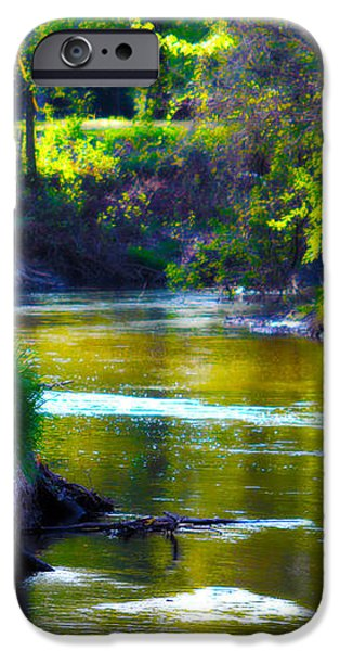 Enchanted River iPhone Case by Rebecca Frank