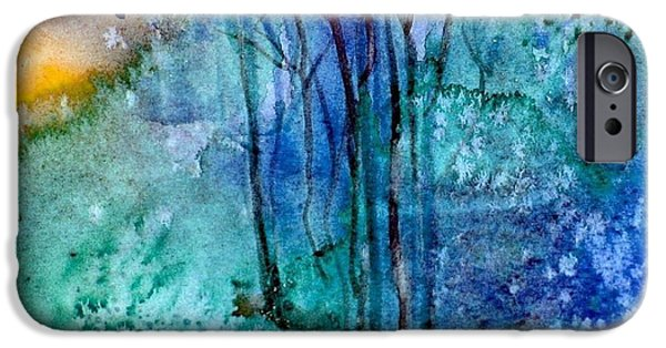 Forest iPhone Cases - Enchantment iPhone Case by Anne Duke