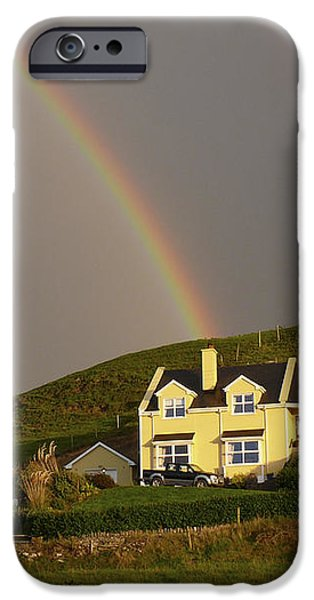 End of the Rainbow iPhone Case by Mike McGlothlen