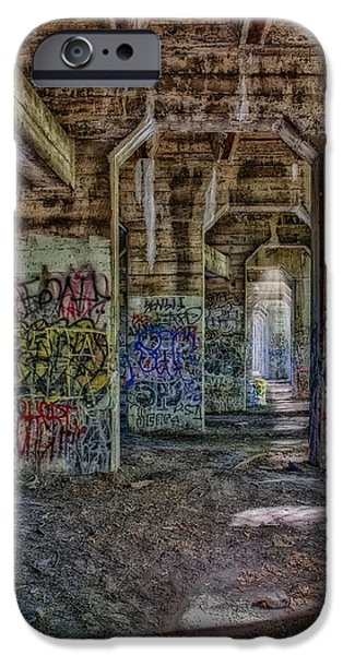 Abandonment iPhone Cases - Endless Graffiti iPhone Case by Susan Candelario